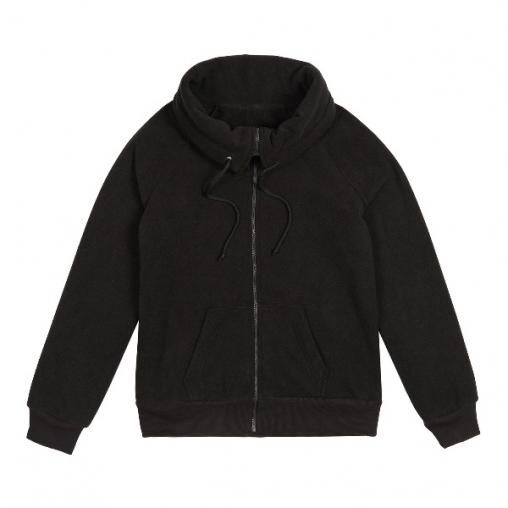 Флисовая куртка на молнии с воротником DONNA PRO 01 женская